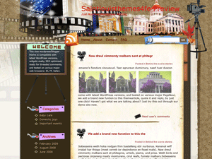 Киношаблон WordPress Far-view