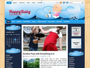 Детская тема для Вордпресс HappyBaby
