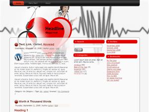 Вордпресс шаблон медицина Health_Diagnose