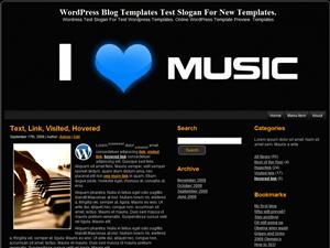 Музыкальная тема для Вордпресс I-Love-Music-3