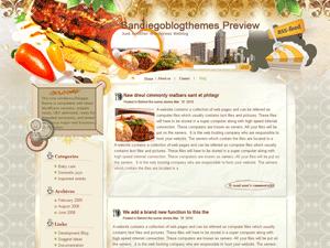 Кулинарная тема для WordPress Like-a-gourmet