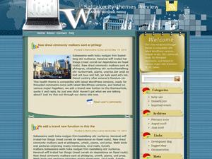 Бизнес шаблон WordPress Linked-life