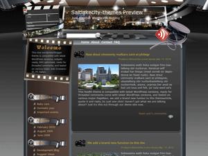 Wordpress шаблон кино Majestic