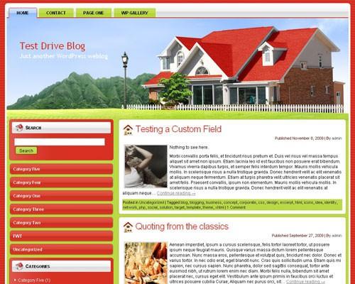 Вордпресс тема недвижимость Real-estate-wordpress-theme
