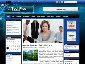 Вордпресс тема техно TechPlus