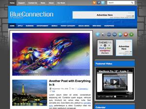 Универсальная Вордпресс тема BlueConnection