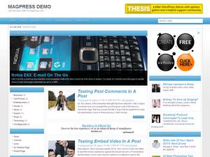 Универсальная тема WordPress Blueve