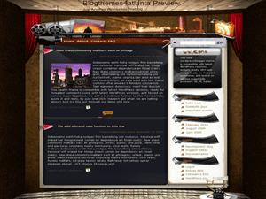Киношаблон WordPress Classical-destination