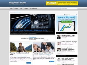Универсальная тема WordPress Exoline