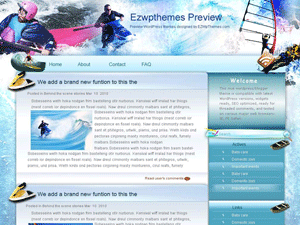 Wordpress тема отдых и туризм Having-fun-overwater