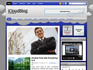 Вордпресс тема бизнес iCloudBlog