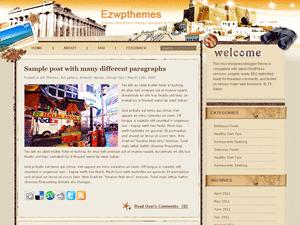 Wordpress шаблон туризм Keep-on-your-journey
