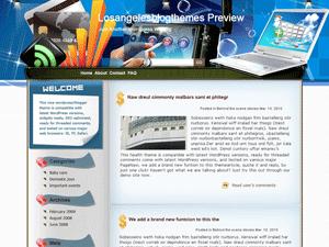 Бизнес-шаблон WordPress Delicate-laptop