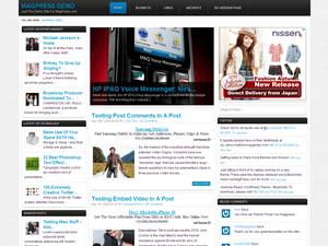 Универсальный WordPress шаблон Monex
