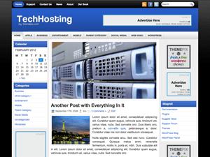 Бизнес тема Ворд пресс TechHosting
