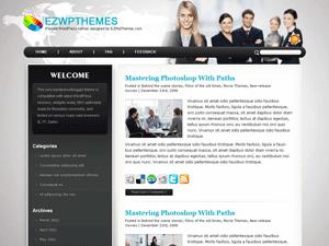 Бизнес шаблон для WordPress Business-friends