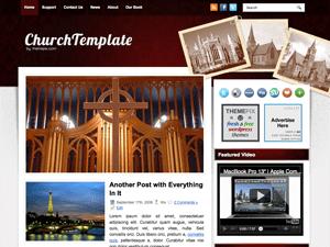 Вордпресс шаблон галерея ChurchTemplate