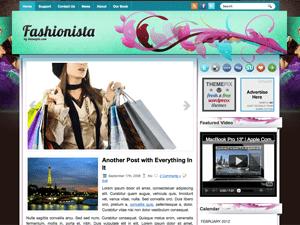 Вордпресс тема мода Fashionista