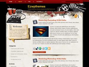 Wordpress шаблон кино Film-adventure