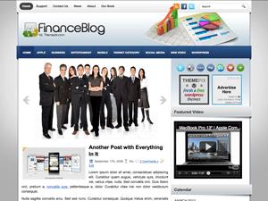 Финансовая тема Wordpress FinanceBlog