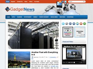 Вордпресс шаблон современные гаджеты GadgetNews