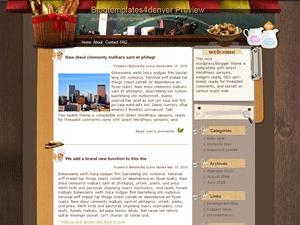 Кулинарная WordPress тема Grand-banquet