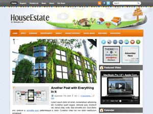 Wordpress тема недвижимость HouseEstate