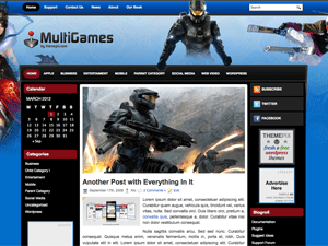 Wordpress тема игры MultiGames