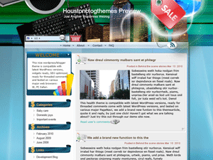 Бизнес-тема Вордпресс Online-service