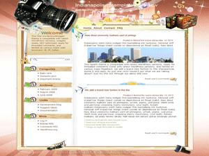 Wordpress шаблон фотография Photograph