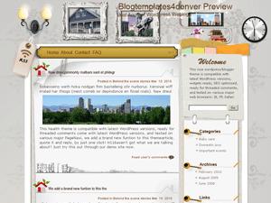 Шаблон WordPress архитектура Postmodern-architecture