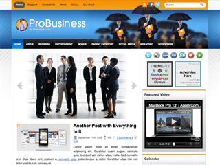 Бизнес-тема Вордпресс ProBusiness