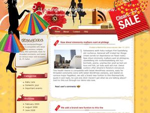 Wordpress шаблон шопинг Windfall