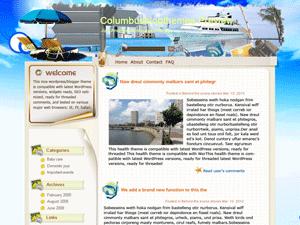 Вордпресс тема отдых и туризм Campsite