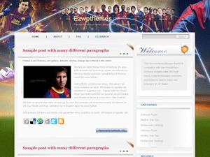 Wordpress шаблон футбол Catch-move