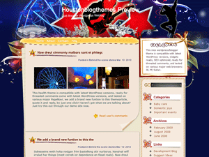 Wordpress тема развлечения Cocktail-in-houston