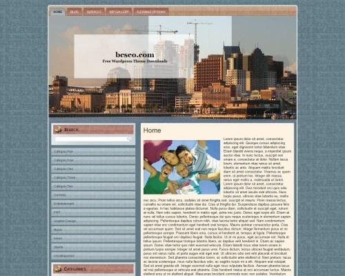 Шаблон WordPress недвижимость Commercial-construction-4
