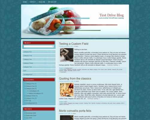 Wordpress шаблон диеты Fast-diet-wp