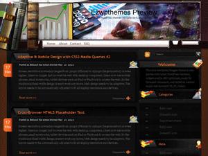 Вордпресс шаблон финансы Financial-channel