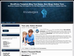 Простая тема для Вордпресс Knowledge-Is