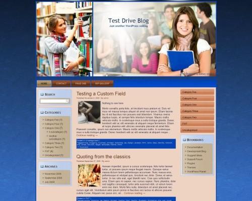 Wordpress тема образование Learning-wp-theme