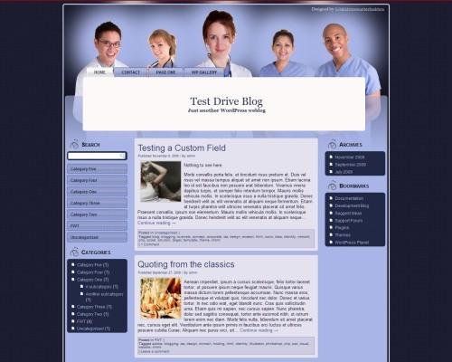Медицинский шаблон Вордпресс Medical-treatment-wp1