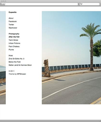 Премиум-тема Expositio для сайта на wordpress