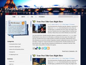 Wordpress шаблон путешествия Terrific-trip
