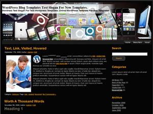 Wordpress тема гаджеты Apple-Products