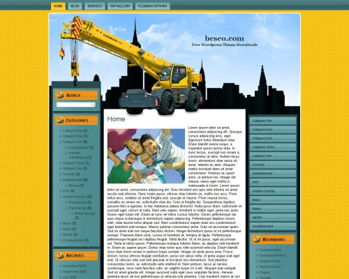 Wordpress тема строительство Commercial-construction-1