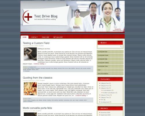Медицинская тема WordPress Doctor-wp-theme-2