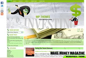 Wordpress тема бизнес MakeMoneyMagazine