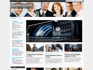 Бизнес-шаблон для WordPress Produs
