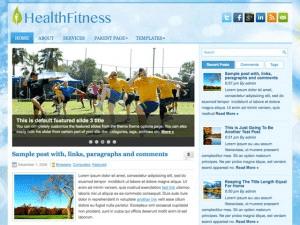 Спортивный шаблон HealthFitness